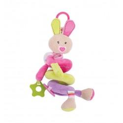 Spirala edukacyjna do wózka - króliczka Bella
