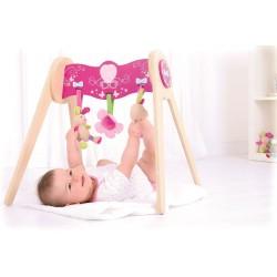 Pałąk do gimnastyki dla niemowląt z zabawkami Bella