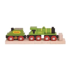 Lokomotywa Big green engine