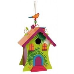 Kolorowy domek dla ptaków Hawai