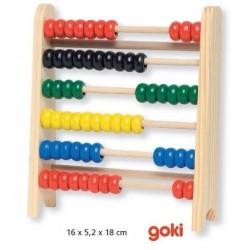 Małe liczydło drewniane dla początkujących matematyków