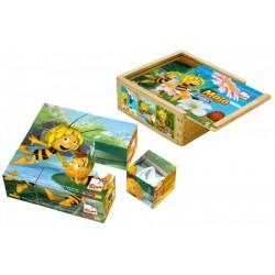 Maja puzzle kostki 9 elementów !