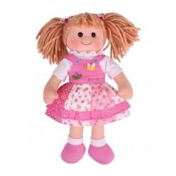 Duża lalka szmaciana Hania 34cm
