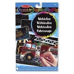 Zdrapka Scratch Art pojazdy
