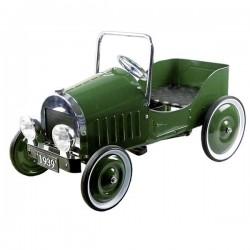 Samochód zielony na pedały