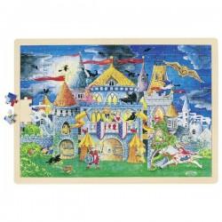 Puzzle duże bajkowy zamek