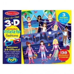 Naklejki 3D Fashion