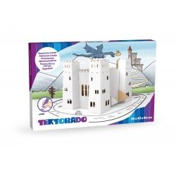 Baśniowy zamek kartonowy