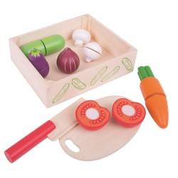 Warzywa do krojenia na rzepy w skrzynce