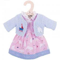 Ubranko dla lalki miś polarny
