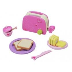 Toster i zestaw śniadaniowy