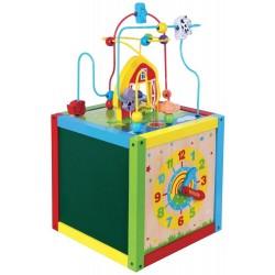 Duża kostka sensoryczna - zestaw zabawek