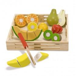 Owoce do krojenia - duży zestaw