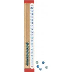 Liczydło dla dzieci - kalkulator kulkowy