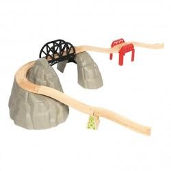 Zestaw do rozbudowy kolejek - Góra Rocky