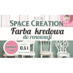 Space Creation farba kredowa - kwitnąca róża 0,5l