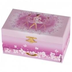 Goki pudełko z szufladkami kwiatowa balerina