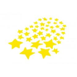 Gwiazdy fluorescencyjne Mały Książe 40szt.