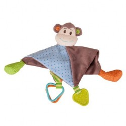 Małpka przytulanka szmatka sensoryczna