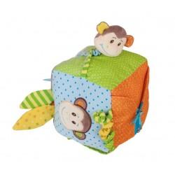 Kostka sensoryczna Małpka - zabawka edukacyjna