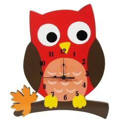 Zegar z sową Zaczarowany las