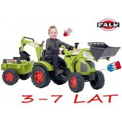 FALK Traktor CLAAS AXOS łyżka przyczepa koparka