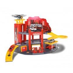 MAJORETTE Garaż Motor City + 1 Samochód