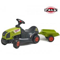 FALK Traktorek/Jeździk CLAAS AXOS 340 z Przyczepą