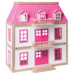 Domek dla lalek Zuzanna - duży domek