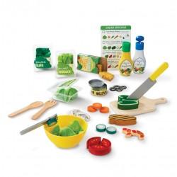 Zestaw sałatkowy - zabawka sałatka Małego Kucharza