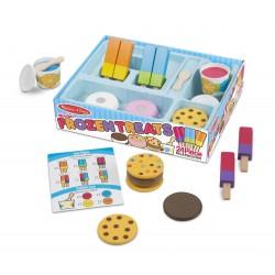 Mrożone smakołyki zestaw do zabawy w sklep