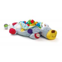 Wielofunkcyjny pies z piłeczkami 60sztuk - Niny