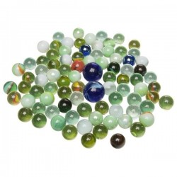 Marbles - Szklane kulki 88 szt.