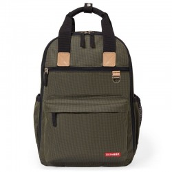 Skip Hop - Plecak Duo Signature Olive Mini Grid