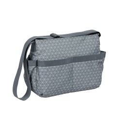 Lassig - Marv Torba z akcesoriami Shoulder bag Tiles grey