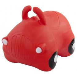 Skoczek samochód - czerwony