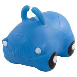 Skoczek samochód - niebieski