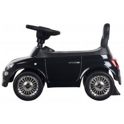 Jeździk Fiat 500 - Carrara czarny