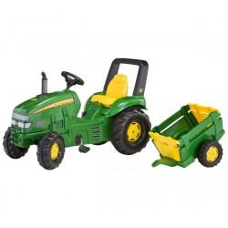 Rolly Toys Traktor X Trac John Deere Przyczepa