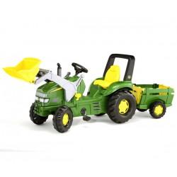 Rolly Toys Traktor X Trac Łyżka Przyczepa