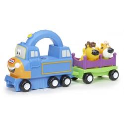 LT Pojazd z Uchwytem Niebieski Charlie