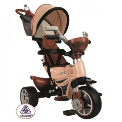 INJUSA Rowerek Trike Body Chocolate