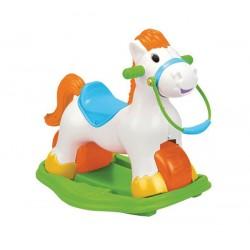 FEBER Jeździk  Koń Na Biegunach 3w1  Pony
