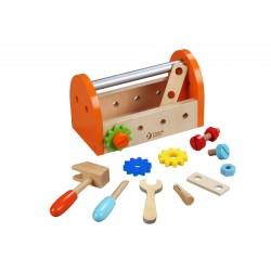 Zestaw narzędzi stolarza - skrzynka z narzędziami
