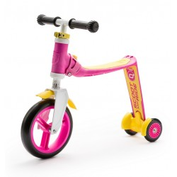 Scootandride - Highwaybaby PLUS 2w1 hulajnoga i rowerek 1+ Pink