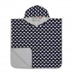 Lassig - Ręcznik Poncho Viking 120x60 cm UV 50+, 12-36 m-cy
