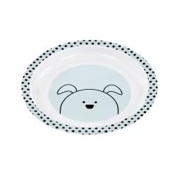 Lassig - Talerz z melaminy Little Chums Pies