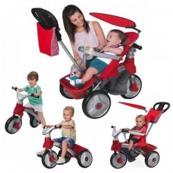 FEBER Rowerek Trójkołowy 4w1 Baby Trike