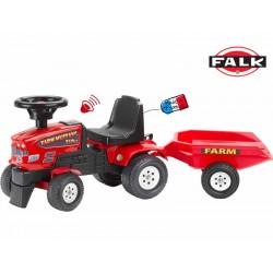 FALK Traktorek FARM MASTER z przyczepą