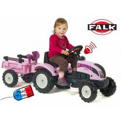 FALK Traktor Princess  z przyczepą